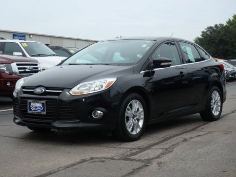 Pre-Owned 2012 Ford Focus SEL FWD 4dr Car