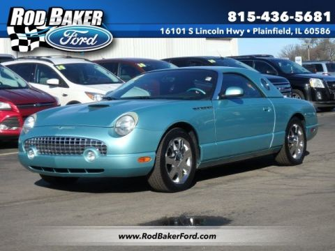 Pre-Owned 2002 Ford Thunderbird  RWD Convertible