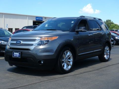 Pre-Owned 2013 Ford Explorer XLT FWD Sport Utility