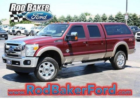 Pre-Owned 2012 Ford Super Duty F-250 SRW 4WD With Navigation & 4WD