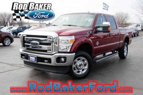 Certified Pre-Owned 2015 Ford Super Duty F-350 SRW  With Navigation & 4WD