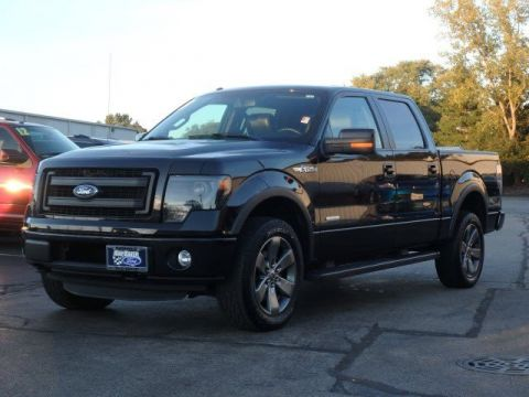 Pre-Owned 2013 Ford F-150  With Navigation & 4WD