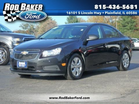 Pre-Owned 2013 Chevrolet Cruze LS FWD 4dr Car