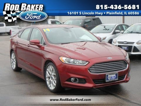 Certified Pre-Owned 2014 Ford Fusion Titanium With Navigation